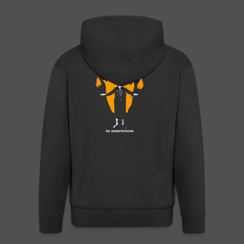 Pyromanisch Depressief (v) - Mannenjack Premium met capuchon