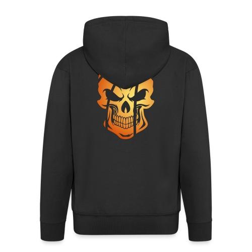 Basketball Skull Herren Tanktop - Männer Premium Kapuzenjacke