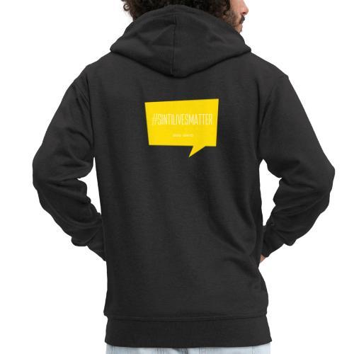 Sinti Lives Matter - Men's Premium Hooded Jacket