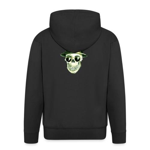 Schädel Hatter - Männer Premium Kapuzenjacke
