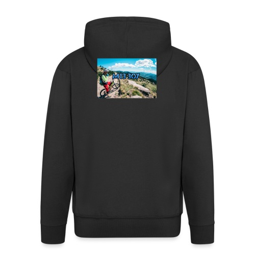 mtb hoddie - Men's Premium Hooded Jacket