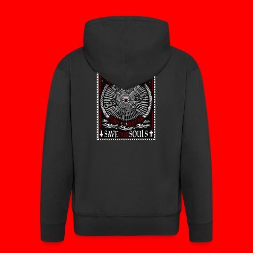 SaveOurSouls - Men's Premium Hooded Jacket