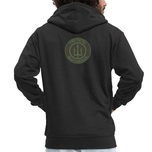 Tactical Shitheads Logo - Männer Premium Kapuzenjacke