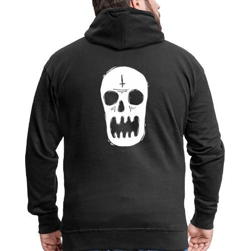 tete de mort - Veste à capuche Premium Homme
