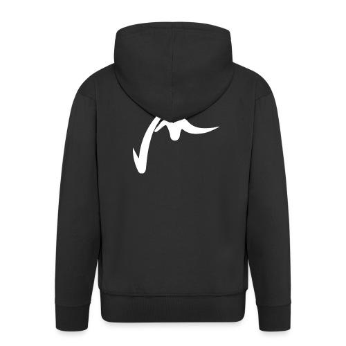 VM_BRUTE_Blanc - Veste à capuche Premium Homme