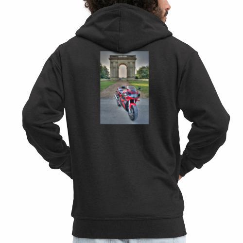 IMG 1000 1 2 tonemapped jpg - Men's Premium Hooded Jacket