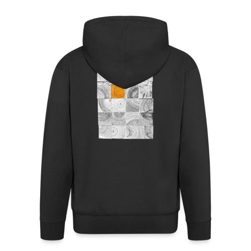 Cubes de Bois - Veste à capuche Premium Homme