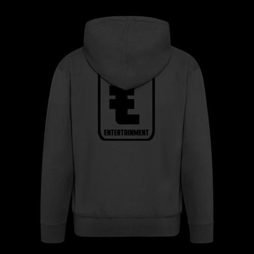 ZwartGeld Logo Sweater - Mannenjack Premium met capuchon