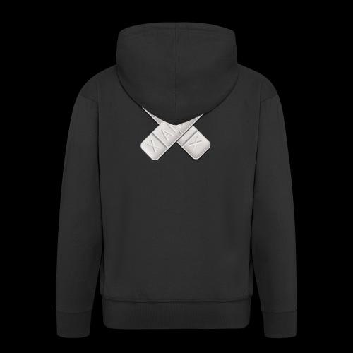 Xanax X Logo - Männer Premium Kapuzenjacke
