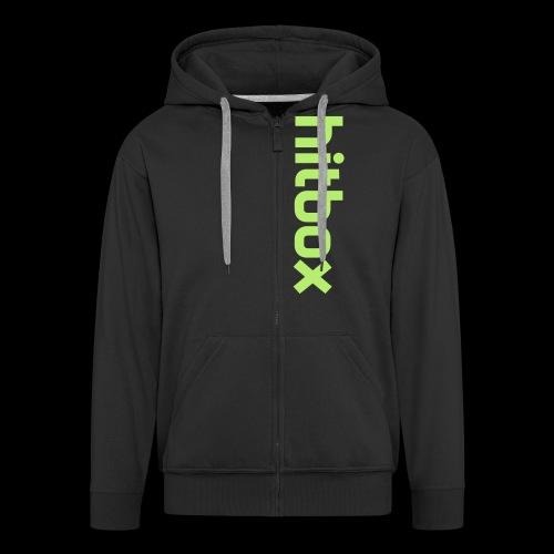 hitbox logo - Men's Premium Hooded Jacket