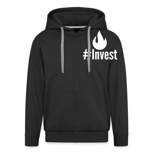 #Invest Premium Langarm - Men's Premium Hooded Jacket
