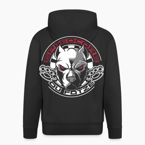 Speedcore Du F*tze - Men's Premium Hooded Jacket