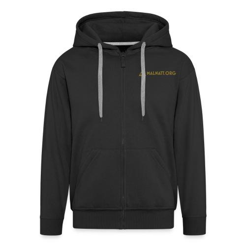 malnatt url pygramid - Men's Premium Hooded Jacket