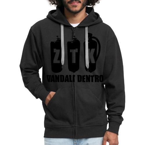 ZTK Vandali Dentro Morphing 1 - Men's Premium Hooded Jacket