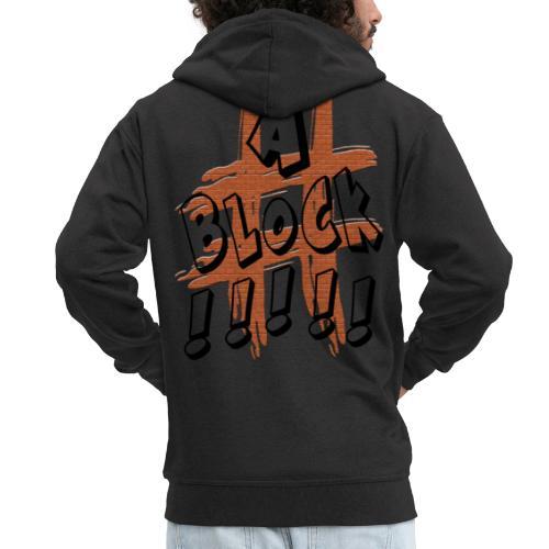 H-Tag A Block - Veste à capuche Premium Homme