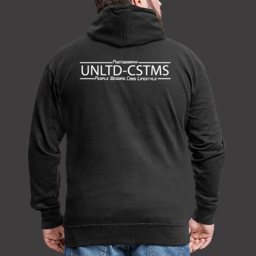 unlimited 02042020 weiß - Männer Premium Kapuzenjacke