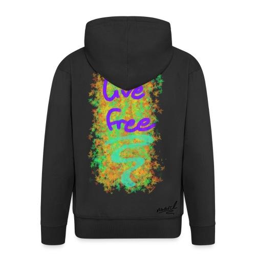 live free - Männer Premium Kapuzenjacke