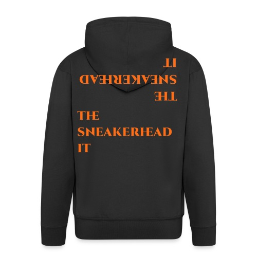 The_sneakerhead_it official merchandise - Felpa con zip Premium da uomo