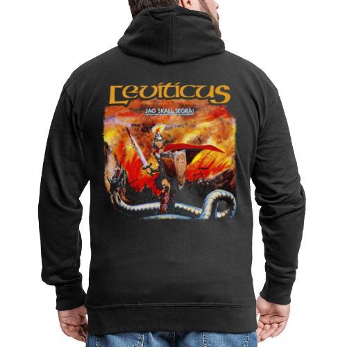Leviticus - Jag ska segra - Men's Premium Hooded Jacket