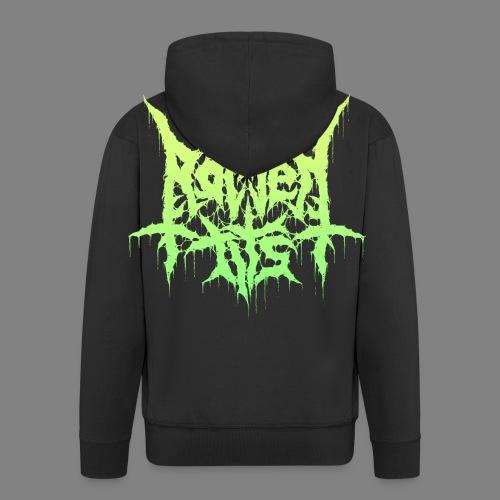 Rotten Tits dripper logo - Miesten premium vetoketjullinen huppari