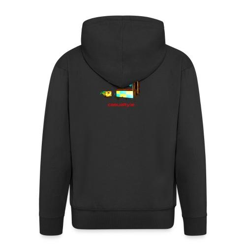 maerch print ambulance - Men's Premium Hooded Jacket