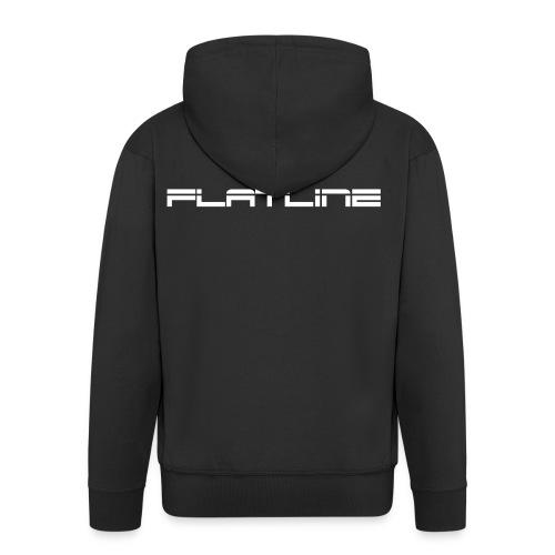 Liam Melly Presents Flatline - Men's Premium Hooded Jacket