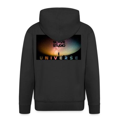 Universe - Felpa con zip Premium da uomo