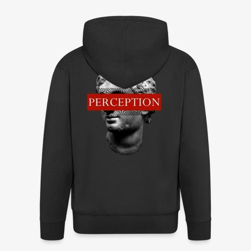 TETE GRECQ RED - PERCEPTION CLOTHING - Veste à capuche Premium Homme