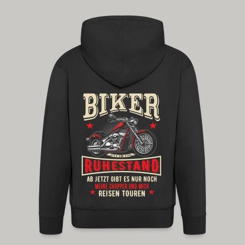 Rentner Ruhestand Pension Rente Motorrad Biker - Männer Premium Kapuzenjacke