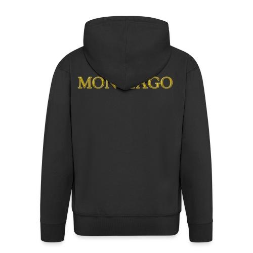 MONTIAGO LOGO - Men's Premium Hooded Jacket