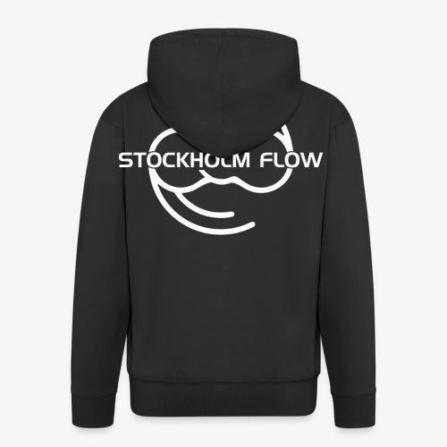Stockholm Flow Old Logo White - Premium-Luvjacka herr