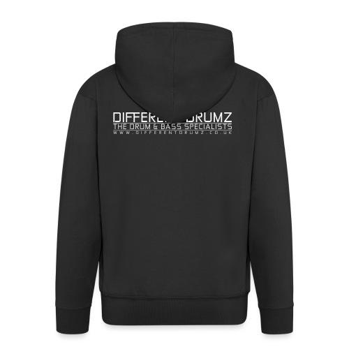 Different Drumz - The Drum & Bass Specialists - Men's Premium Hooded Jacket