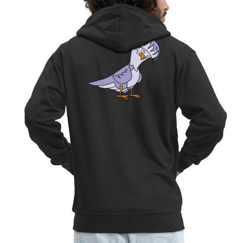 Taube von dodocomics - Männer Premium Kapuzenjacke