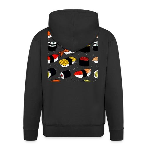 Sushi art - Mannenjack Premium met capuchon