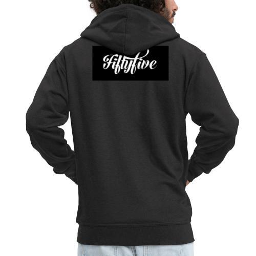 Fiftyfive - Miesten premium vetoketjullinen huppari