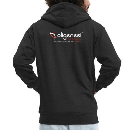 Oligenesi: Corsi di Massaggio - Felpa con zip Premium da uomo