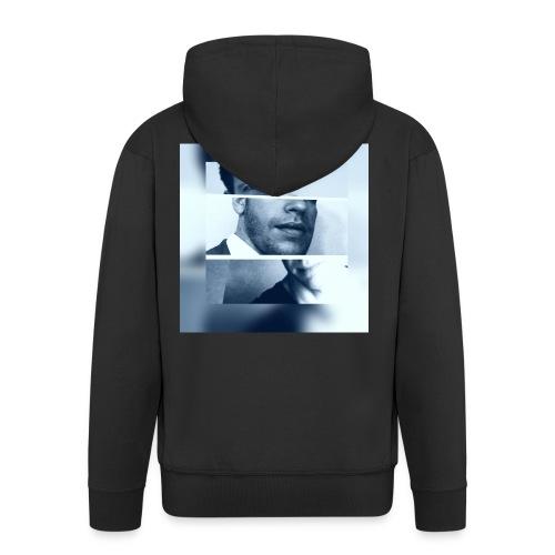 grif - Rozpinana bluza męska z kapturem Premium
