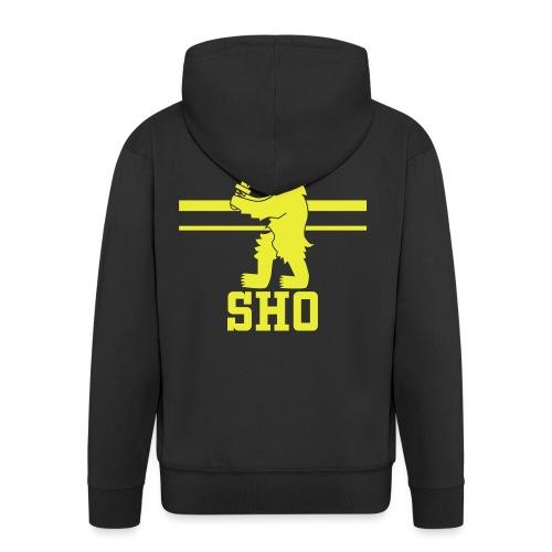 SHO Satakunta - Miesten premium vetoketjullinen huppari