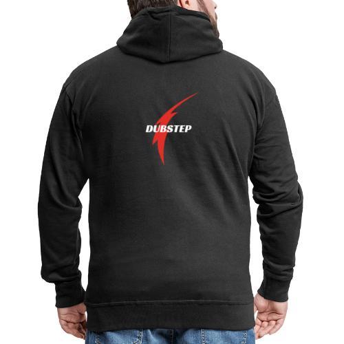 Dubstep - Felpa con zip Premium da uomo