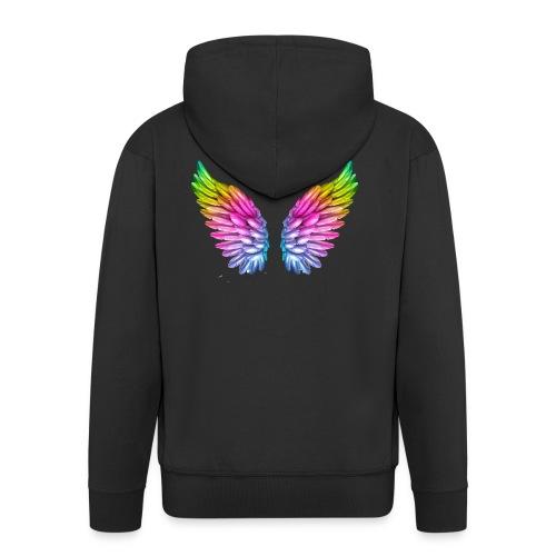 alas de colores - Chaqueta con capucha premium hombre