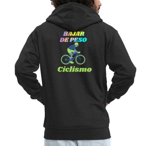 Ciclismo para perder peso - Chaqueta con capucha premium hombre