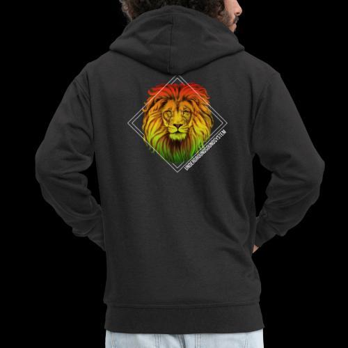 LION HEAD - UNDERGROUNDSOUNDSYSTEM - Männer Premium Kapuzenjacke