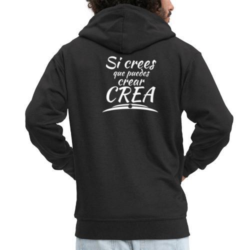 Ser creativo siempre - Chaqueta con capucha premium hombre