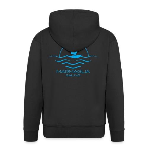 Marmaglia Basic Logo - Felpa con zip Premium da uomo