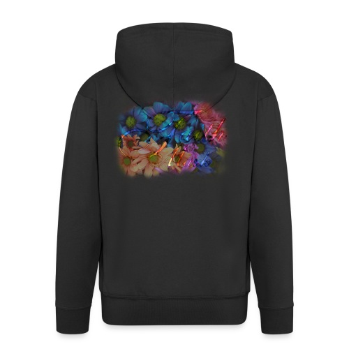FaithMark-SpreadShirt-Colorful - Mannenjack Premium met capuchon