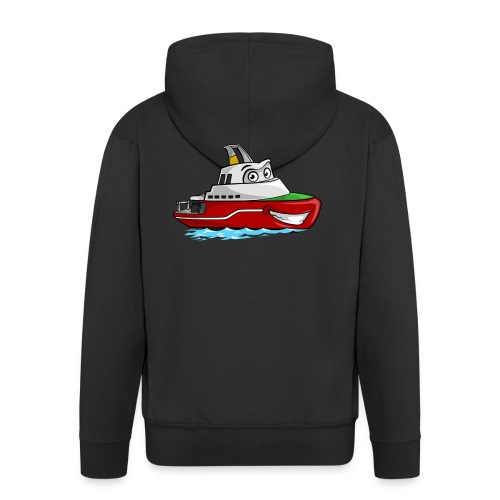 Boaty McBoatface - Men's Premium Hooded Jacket