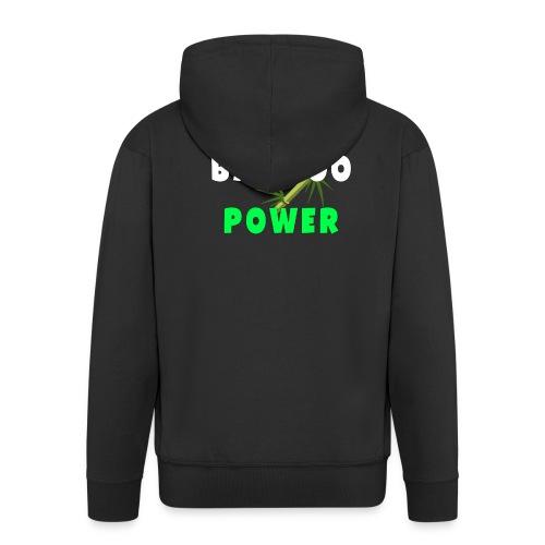 Bamboo Power T-shirt - Mannenjack Premium met capuchon