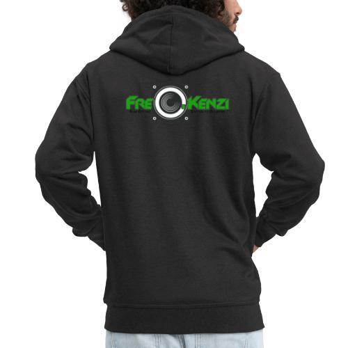 FreQ.Kenzi Logo - Männer Premium Kapuzenjacke