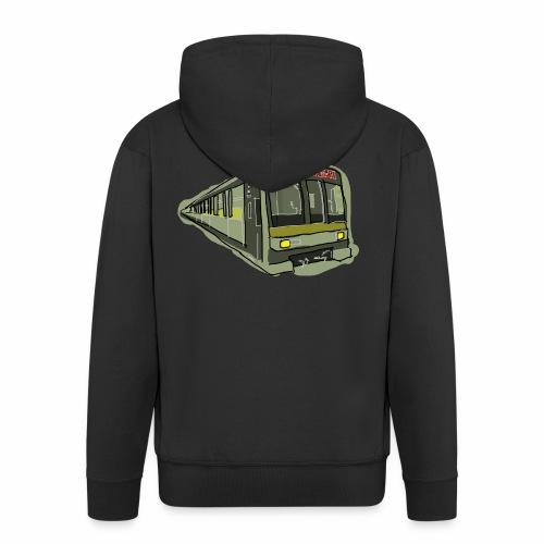 Urban convoy - Felpa con zip Premium da uomo