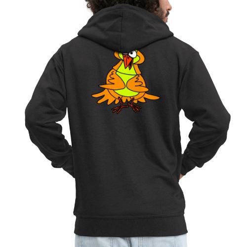 Vogel Nr 3 von dodocomics - Männer Premium Kapuzenjacke
